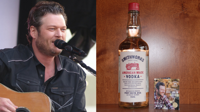 Blake Shelton's Smithworks Vodka