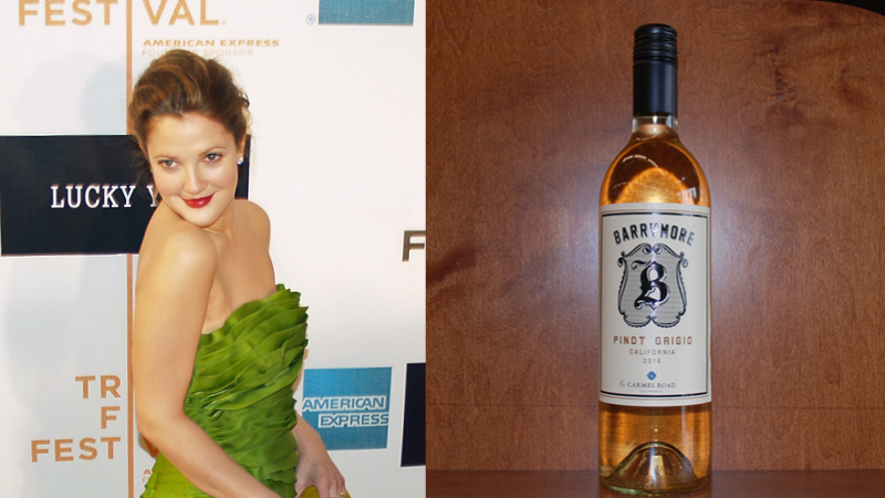 Drew Barrymore Wine