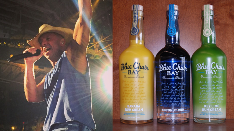 Kenny Chesney's Blue Chair Bay Rum