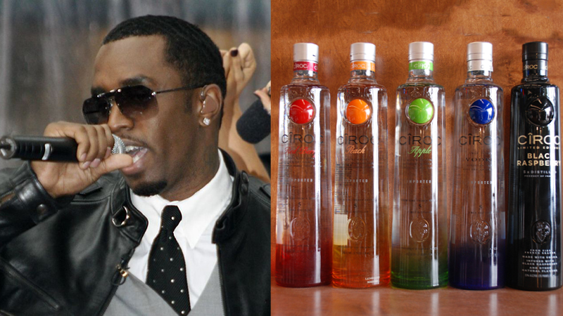 P Diddy's Ciroc Vodka